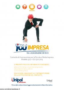 Unipol - You Impresa Assicurazione Per La Piccola E Media Impresa - Modello 3222 Edizione 15-01-2013 [114P]