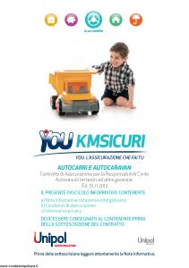 Unipol - You Kmsicuri Autocarri E Autocaravan - Modello s09050a-ks3 Edizione 01-11-2013 [106P]