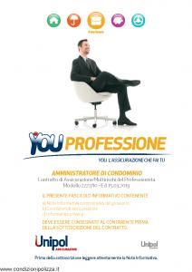 Unipol - You Professione Amministratore Di Condominio Multirischi Del Professionista - Modello 2227-10 Edizione 15-03-2013 [70P]