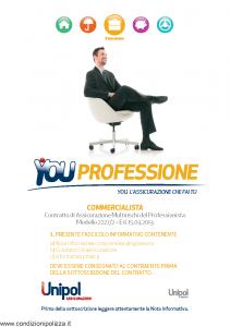 Unipol - You Professione Commercialista Multirischi Del Professionista - Modello 2227-2 Edizione 15-03-2013 [70P]