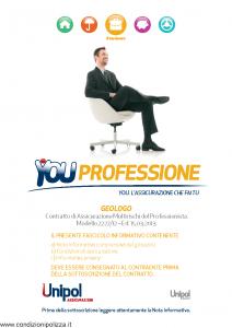 Unipol - You Professione Geologo Multirischi Del Professionista - Modello 2227-12 Edizione 15-03-2013 [70P]
