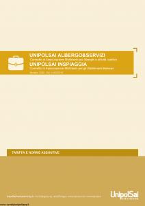 Unipolsai - Albergo E Servizi Inspiaggia - Modello 3300 Edizione 01-03-2018 [92P]