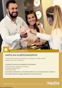 Unipolsai - Albergo E Servizi - Modello 3300 Edizione 01-03-2018 [150P]