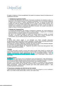 Unipolsai - All Risks Delle Opere D'Arte - Modello 3306 Edizione 01-01-2016 [29P]