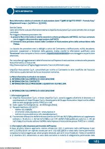 Unipolsai - Cane E Gatto Isfast Formula Easy - Modello 7300 Edizione 30-09-2018 [26P]