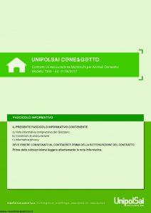 Unipolsai - Cane E Gatto Multirischi Per Animali Domestici - Modello 7300 Edizione 06-2017 [62P]