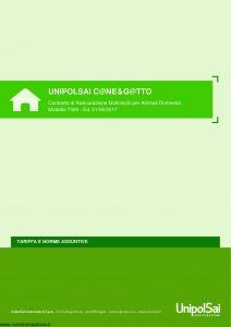 Unipolsai - Cane E Gatto Multirischi Per Animali Domestici Tariffe E Norme Assuntive - Modello 7300 Edizione 06-2017 [16P]