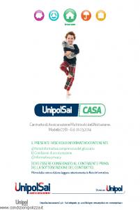 Unipolsai - Casa Multirischi Dell'Abitazione - Modello 7261 Edizione 01-03-2014 [118P]