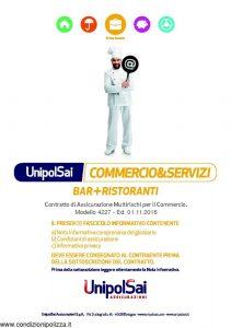 Unipolsai - Commercio & Servizi Bar + Ristoranti - Modello 4227 Edizione 11-2016 [162P]