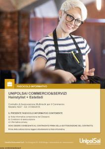 Unipolsai - Commercio E Servizi Hairstylist Estetisti - Modello 4227 Edizione 01-08-2018 [134P]
