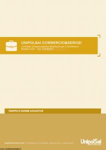 Unipolsai - Commercio E Servizi - Modello 4227 Edizione 15-04-2017 [81P]