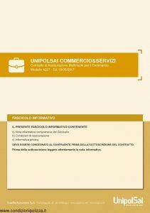 Unipolsai - Commercio E Servizi Multirischi Per Il Commercio - Modello 4227 Edizione 05-2017 [164P]