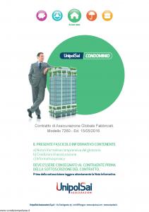 Unipolsai - Condominio Assicurazione Globale Fabbricati - Modello 7260 Edizione 15-05-2016 [78P]