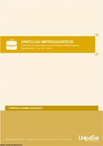 Unipolsai - Impresa E Servizi Assicurazione Piccola E Media Impresa Tariffe E Norme Assuntive - Modello 3224 Edizione 11-2017 [114P]