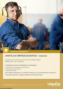 Unipolsai - Impresa E Servizi Industria - Modello 3224 Edizione 01-05-2018 [182P]