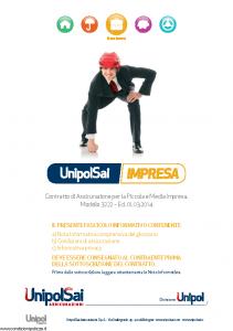 Unipolsai - Impresa - Modello 3222 Edizione 01-03-2014 [114P]