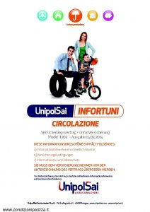 Unipolsai - Infortuni Circolazione - Modello 1203 Edizione 03-2015 [GER] [58P]