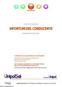 UnipolSai - Infortuni Del Conducente - Modello 1035 Edizione 07-2014 [20P]