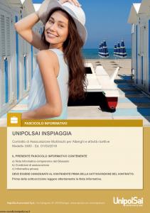 Unipolsai - Inspiaggia - Modello 3300 Edizione 01-03-2018 [130P]