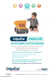 Unipolsai - Kmsicuri Autocarri E Autocaravan - Modello s09050a-ks3 Edizione 01-07-2017 [118P]
