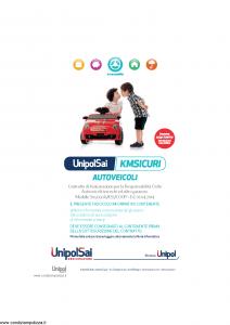 Unipolsai - Kmsicuri Autoveicoli - Modello s09050a-ks1-coop Edizione 01-04-2014 [130P]