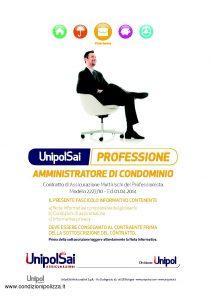 Unipolsai - Multirischi Del Professionista Amministratore Di Condominio - Modello 2227-10 Edizione 04-2014 [66P]