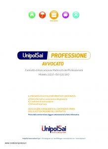 Unipolsai - Multirischi Del Professionista Avvocato - Modello 2227-1 Edizione 07-2017 [52P]
