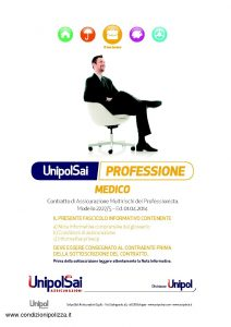 Unipolsai - Multirischi Del Professionista Medico - Modello 2227-5 Edizione 04-2014 [66P]