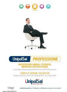 Unipolsai - Multirischi Del Professionista Professioni Liberali Tecniche Mediche E Ufficio Studio - Modello 2227 Edizione 07-2017 [86P]