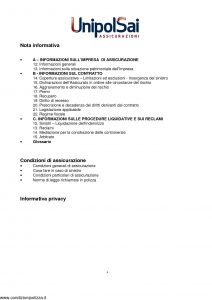 Unipolsai - Polizza Tutela Legale Aeronautica Militare - Modello nd Edizione 01-2014 [32P]