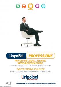 Unipolsai - Professioni Liberali Tecniche Mediche E Ufficio Studio - Modello 2227-1_12 Edizione 15-02-2018 [86P]