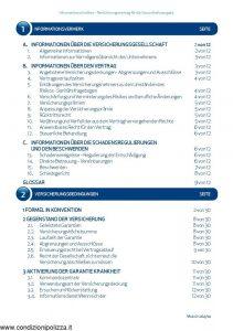 Unipolsai - Salute Sanicard Garantierte Erneuerung Formel In Konvention German - Modello 1264-002 Edizione 03-2016 [GERMAN] [52P]