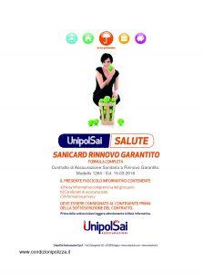 Unipolsai - Salute Sanicard Rinnovo Garantito Formula Completa - Modello 1264 Edizione 03-2016 [46P]