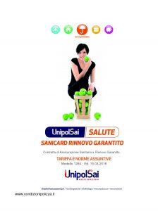 Unipolsai - Salute Sanicard Rinnovo Garantito - Modello 1264 Edizione 03-2016 [30P]