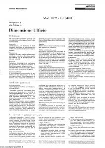 Veneta - Dimensione Ufficio - Modello 1072 Edizione 04-1991 [SCAN] [4P]