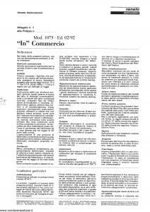 Veneta - In Commercio - Modello 1075 Edizione 02-1992 [SCAN] [6P]