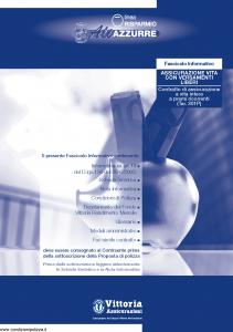 Vittoria - Ali Azzurre Linea Risparmio 301P - Modello pb001.160.0112 Edizione 31-12-2011 [43P]