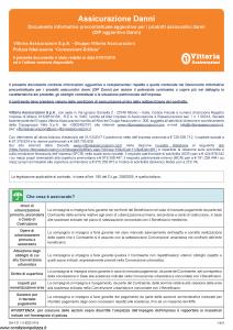 Vittoria - Assicurazione Danni Dip Aggiuntivo - Modello da-131.1.0 Edizione 01-01-2019 [5P]
