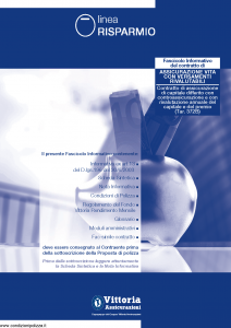 Vittoria - Assicurazione Vita Con Versamenti Rivalutabili 372B - Modello pb001.164.0112 Edizione 31-12-2011 [45P]