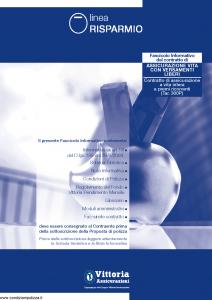 Vittoria - Linea Risparmio 300P - Modello pb001.124.0112 Edizione 31-12-2011 [41P]