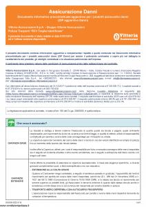 Vittoria - Polizza Trasporti Rcv Targhe Identificate - Modello da0300 Edizione 01-01-2019 [6P]