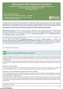 Vittoria - Vittoria Tutela Futuro Doppia Protezione 105D - Modello da-pb0105d Edizione 01-01-2019 [7P]