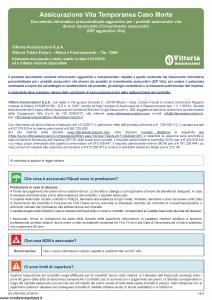 Vittoria - Vittoria Tutela Futuro Mutui E Finanziamenti 105A - Modello da-pb0105a Edizione 01-01-2019 [6P]