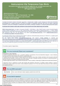 Vittoria - Vittoria Tutela Futuro Mutui E Finanziamenti 105U - Modello da-pb0105u Edizione 01-01-2019 [5P]