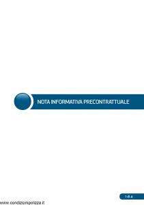 Waytech - Condizioni Generali Abbinate Al Contratto Rca Sicurezza Integrale - Modello 9377-a8 Edizione 01-02-2016 [40P]