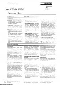 Winterthur - Dimensione Ufficio - Modello 1072 Edizione 1997 [SCAN] [4P]