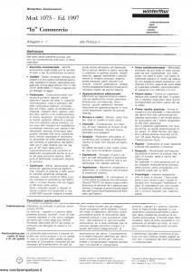 Winterthur - In Commercio - Modello 1075 Edizione 1997 [SCAN] [6P]