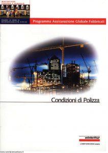 Winterthur - Programma Assicurazione Globale Fabbricati - Modello AE618N01 Edizione 07-2001 [SCAN] [22P]