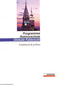 Winterthur - Programma Assicurazione Globale Fabbricati - Modello AE618N01 Edizione 11-1999 [SCAN] [23P]