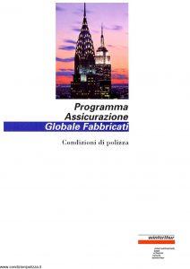 Winterthur - Programma Assicurazione Globale Fabbricati - Modello ae618n01 Edizione 06-1997 [22P]